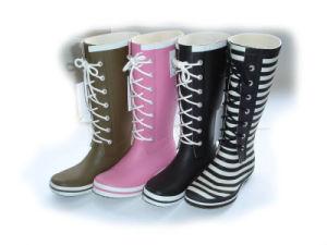 Ladies′ Rubber Boots_Garden Shoes _Rubber Garden Shoes pictures & photos