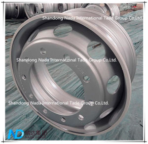 22.5X8.25 Tubeless Rim TBR Truck Steel Wheel with Ts16949/ISO9001: 2000 pictures & photos