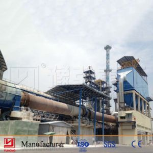 Yuhong 200-500tpd Cement Clinker Rotary Calcining Kiln Equipment pictures & photos