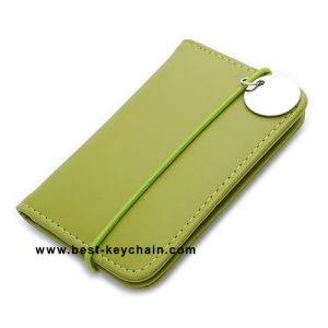 Promotion Green Leather Business Card Holder (BK21545) pictures & photos