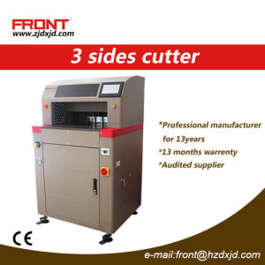 Front Intelligent 3 Sides Paper Cutter Three-Side Cutter pictures & photos