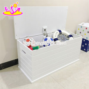 New Design House Organizer Wooden Corner Toy Storage with Lid W08c248 pictures & photos