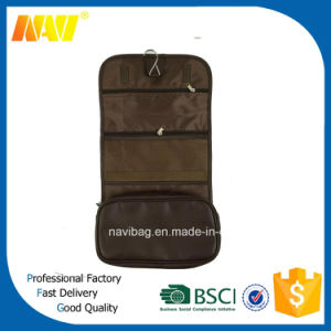 Foldable Polyester Toiletry Bag Hanging