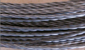 Hot Sale 99.95% Molybdenum Spiral Wire Dia0.7mm*3 Strand pictures & photos