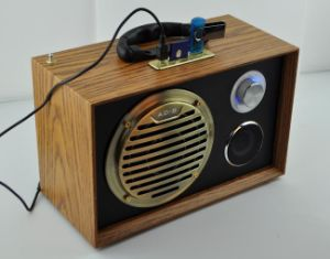 Wooden USB/SD Card Portable Speaker (W2020)