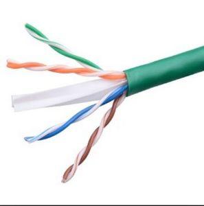 Puli UTP CAT6 LAN Cable 0.56 Copper Pass Fluke Green PVC pictures & photos