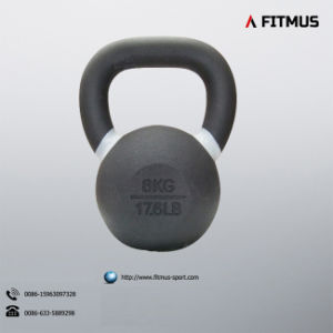 Direct Factory Garage Gyms Solid Cast Iron Power Coated Kettlebell pictures & photos