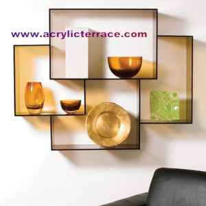 Acrylic Wall Shelf (5WS330008)
