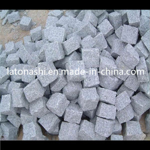 Natural G603 Grey Granite Cubestone / Cube Stone for Paving, Landscape pictures & photos