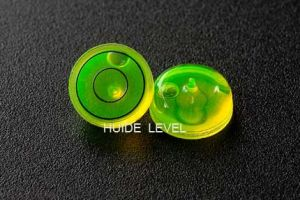 Glass Circular Spirit Level Vial, Round Level Bubble (GC10-1509)