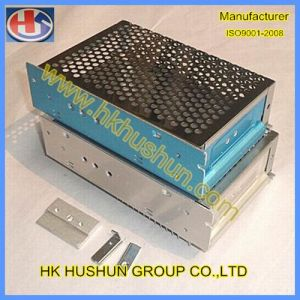 Supply Panel Beating Metal Electric Box Sheet Metal Fabrication (HS-PB-002) pictures & photos