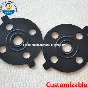 Viton/Silicone/EPDM/NBR Rubber Flange Gasket with High Performance pictures & photos