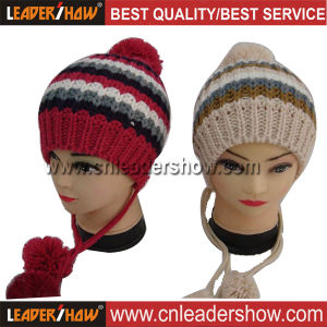 Knitted Fringes Hat (LS-CH002)