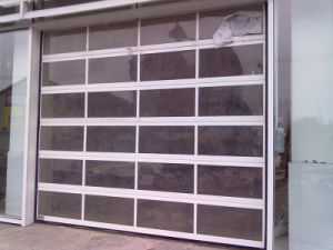 Electirc Chinese Industrial Sandwich Panel Sliding Doors (HF-1109) pictures & photos
