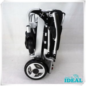 Tiny 5 Foldable and Portable Power Wheelchair pictures & photos