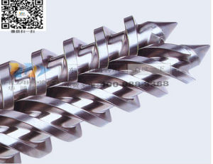Double-Screw Extruder Conical Twin Screw Cylinder pictures & photos