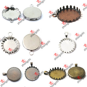 Wholesale Jewelry Finding Pendant Trays for Stone Necklace (P201) pictures & photos