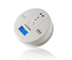 Carbon Monoxide Detector with LCD Displayer and High Security pictures & photos