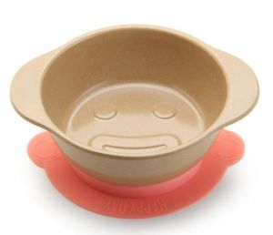 Rice Husk Fibre Biodegradable Kid′s Bowl with Silicone Base pictures & photos