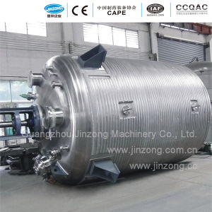 Jinzong Machinery Adhesive Glue Reactor/Reaction Kettle/Reaction Vessel pictures & photos