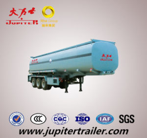 30cbm Fuel Tanker Semi Trailer with BPW Axle