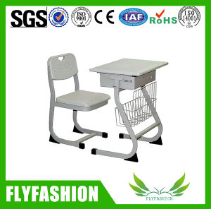 High Quality Plastic Single Desk and Chair (SF-56S) pictures & photos