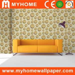 Fashion Building Material Wallcovering with 3D Foaming pictures & photos