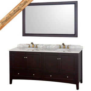 Fed-1569 Customized Oak Wood Bathroom Furniture Cabinet Vanity pictures & photos