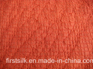 Crinkle Polyester Chiffon Fabric pictures & photos