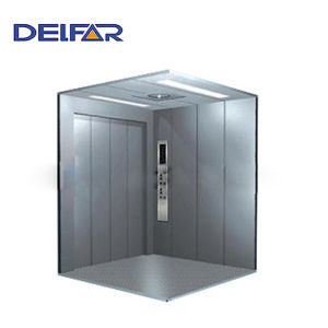 Safe Large Loading Delfar Freight Elevator pictures & photos