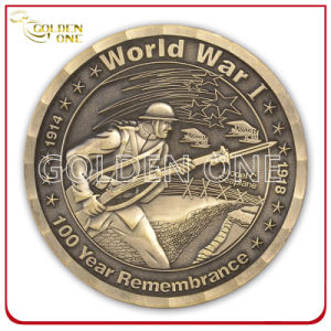 Factory Direct Supply Custom High Quality Brass Us Army Coin pictures & photos