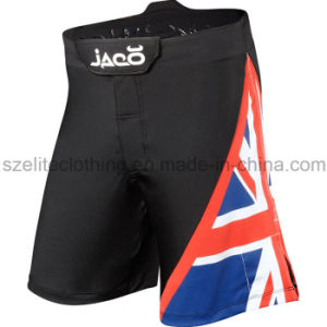 Custom High Quality MMA Flag Shorts (ELTMMJ-58) pictures & photos