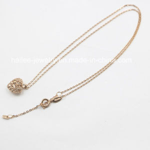 New Arrival Stainless Steel Fashion Imitation Necklace Jewelry pictures & photos