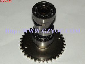 Yog Motorcycle Engine Spare Parts Cam Shaft Camshaft Scooter Gy6-125 pictures & photos