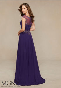 Bridesmaid Party Prom Gown Mother Evening Dress, Customized pictures & photos