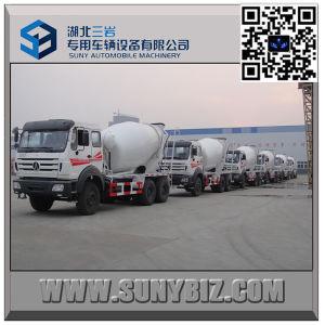 North Benz 10 Wheeler 7 Cbm Cement Mixer Truck