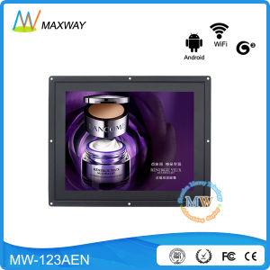 Network WiFi 3G Android 12 Inch LCD Display with Touch Screen pictures & photos