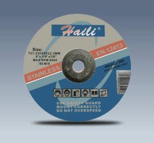 "9""Grinding Wheel for Stainless Steel (230-6-22.2)"
