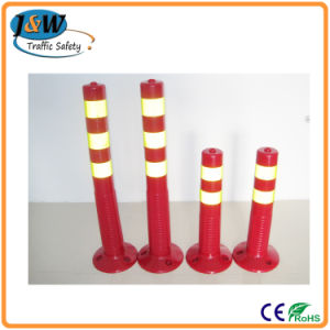 China Supplier Rebound Spring Post / Removable Bollards / Flexible Guide Post pictures & photos