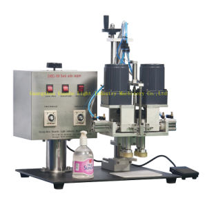 Semi-Auto Cosmetic Liquid Filling Machine with Pump Filling pictures & photos