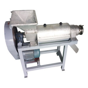 Industrial Stainless Steel 500kg/H Apple Screw Juicer Machine pictures & photos