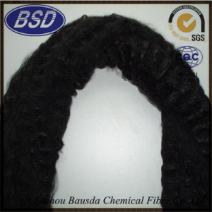 Dope Dyed Regenerated Polyester Staple Fiber PSF Tow