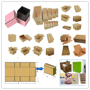 2 Color Flexo Print and Cut Machine Carton Box Slotting Machine Price pictures & photos