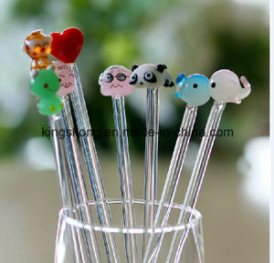 China Wholesale Newest Product Glass Coffee Stirrer pictures & photos