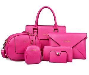 Top Quality Set Lady Handbag 6PCS Fashion Designer Bag (XM0130) pictures & photos