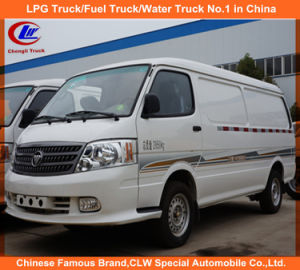 Refrigerated Car Refrigerated Van Car Insulted Car Meat Fish Transport Foton Refrigerated Car pictures & photos