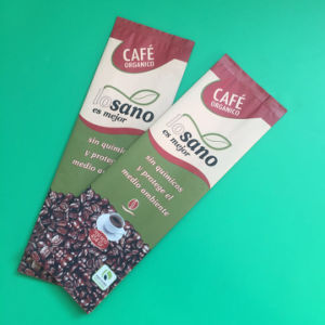 Gusset Coffee Bags with Valve for Coffee Beans Packing pictures & photos