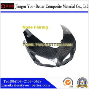 Carbon Fiber Motorcycle Parts for Nose Fairing