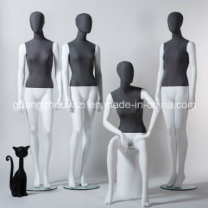 Fashionable Fabric Wrapped Female Mannequin in Hot Sale pictures & photos