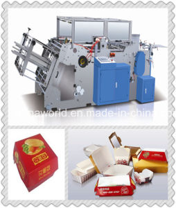 Take Away Food Box Making Machine pictures & photos
